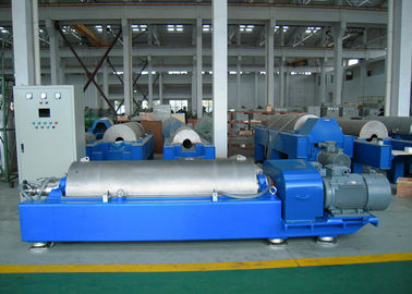 China Solid Bowl Scroll Centrifuge / Horizontal Wastewater Sludge Centrifuge factory