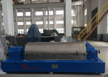 China High Performance 3 Phase Decanter Centrifuge , Tricanter Centrifuge For Fish Oil Processing factory