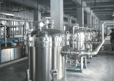 China DL Bag Type Industrial Bag Filters / Refine Filter For Edible Oil CE Approved factory