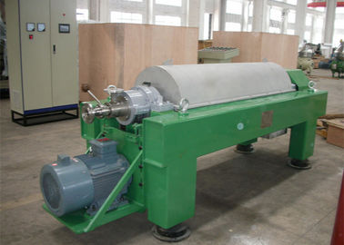 China Tricanter Centrifuge / Horizontal Decanter Centrifuge For Water Solid Oil Separation factory