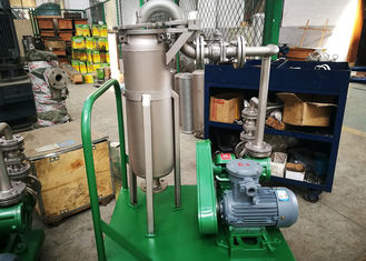 China Pulse Jet Bag Filter System / Lube Oil Filter High Efficiency Enclosed Operation factory
