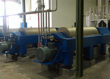 China High Efficiency Horizontal Decanter Centrifuge PVC Sludge Used 220V / 380V factory