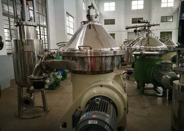 China Stainless Steel Cream Separator , Centrifugal Separation Of Milk DHNZ Series factory