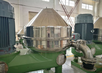 Green Centrifugal Filter Separator Big Feed Capability For Starch Industry