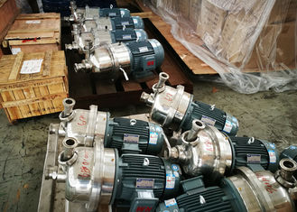 High Speed Centrifugal Transfer Pump Capacity 80 - 180T/D Stainless Steel Material