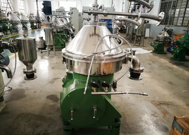 China Green Dairy Cream Separator , Industrial Milk Separator DHNZ Series Special Design factory
