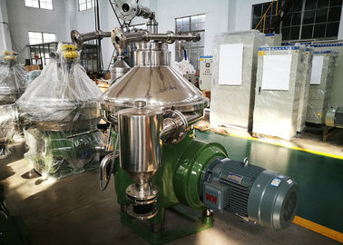 China High Oil Rate Biodiesel Separator , Centrifugal Oil Separator With Self Cleaning Bowl factory