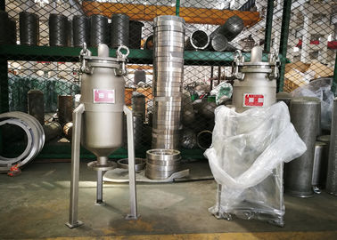 China Eco Friendly Stainless Steel Bag Filter / Inline Bag Filter For Beer Food Standard factory