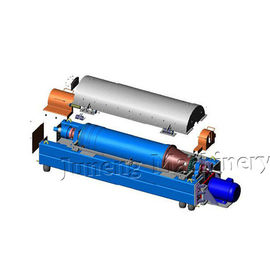 China Blue Color Decanter Centrifuge Machine Oil Field Watertreatment Sludge Dewatering factory