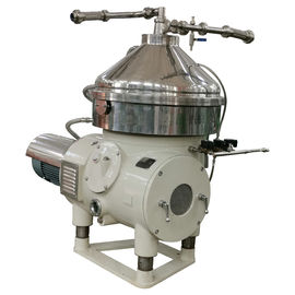 China Centrifugal Dairy Cream Separator , Compact Butter Separator Machine factory