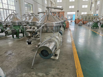 China Stainless Steel Warm Cold Milk Separator / Durable Cream Separator Machine factory