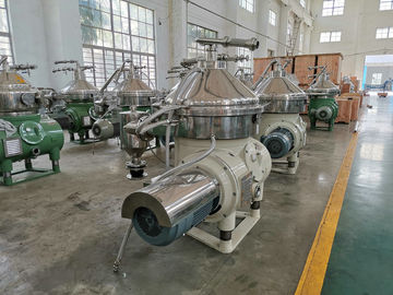 China Multifunction Automatic Disc Oil Separator For Dairy Products Clarification factory