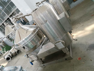 China Liquid Solid Milk And Cream Separator With PLC Control Large Capacity factory