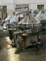 China Eco Friendly Milk Skimming Machine , Automatic Online Cream Separator factory
