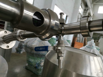 China Stainless Steel Milk And Cream Separator For Cold / Warm Milk Separation factory