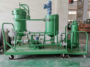 Industrial Vacuum Leaf Filter , Safety Stainless Steel Cream Separator