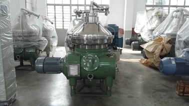 Safety Centrifugal Water Separator , Vegetable Oil Centrifuge Separator