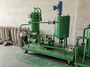 Automatic Vacuum Leaf Filter / Pressure Filtration System Oil Industry