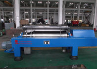 China Blue Horizontal Decanter Centrifuge Speed 3600 R/Min Starch Washing And Dehydrating factory