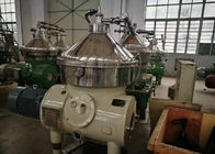 China Lower Noise Disc Stack Centrifuge / Beverage Separator High Rotating Speed factory