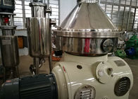 China High Efficiency Online Cream Separator , Centrifugal Separator For Milk Processing factory