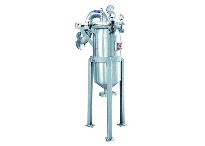 Liquid Inline Bag Filter System / Duplex Type Filter For Electroplate supplier