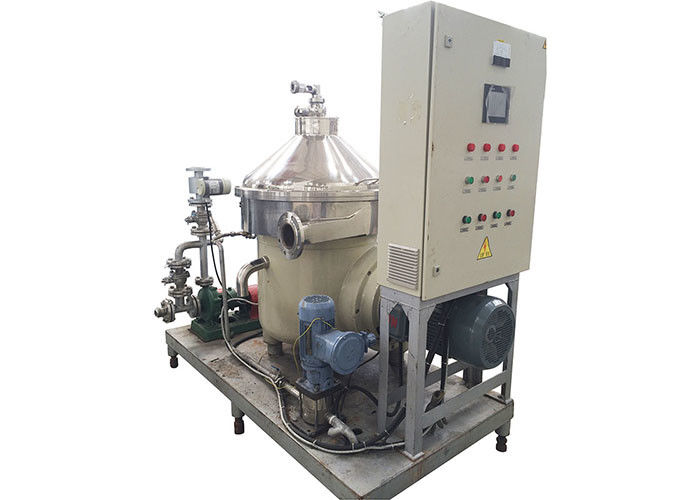 Electric Power Milk Water And Dairy Cream Separator System With PLC Control supplier