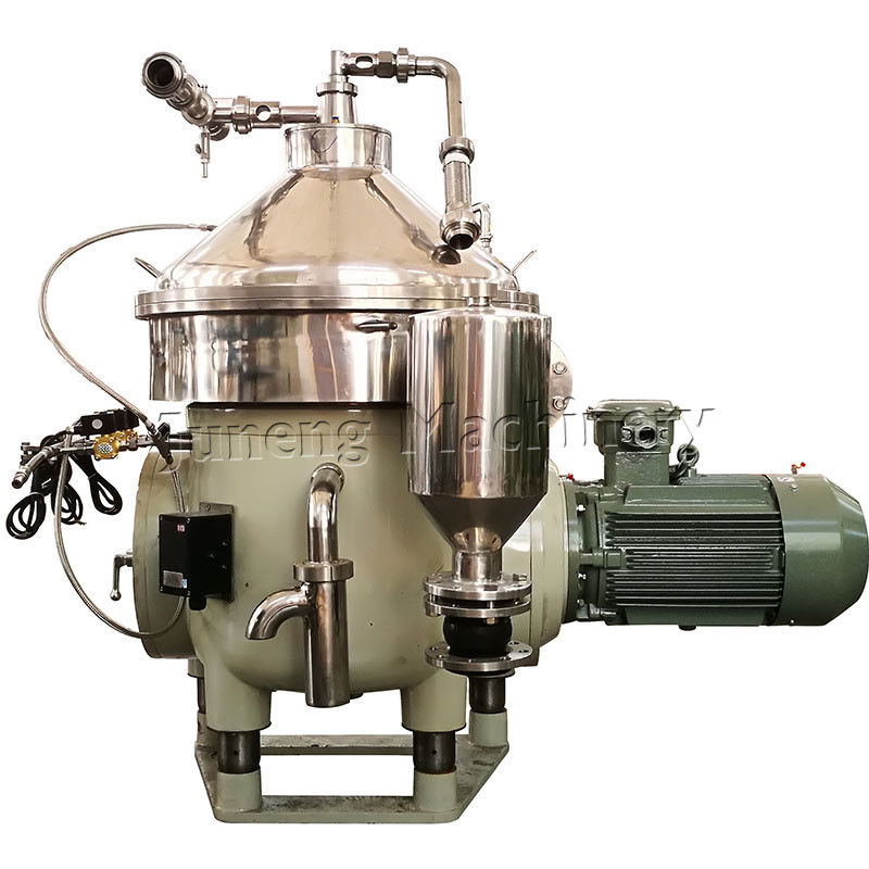 Bottled Milk Cream Separator Machine , Centrifugal Separator For Milk Processing