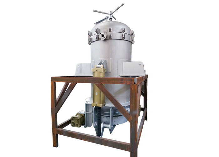 Rotary Pressure Plate Filter / Food Industry Pressure Filtration System supplier