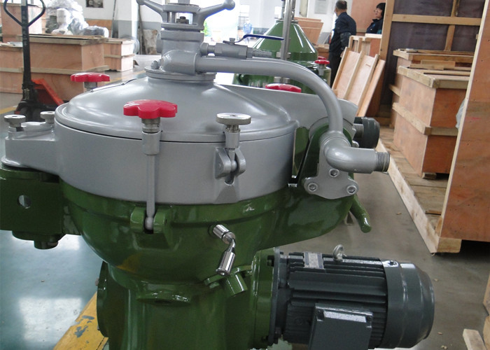 Green Color Centrifuge Oil Water Separator For Lubricating