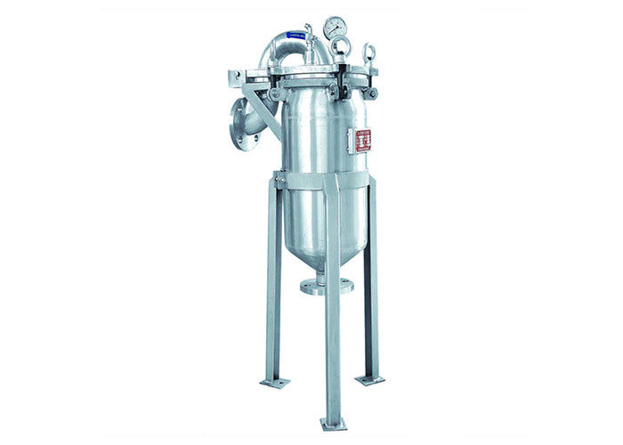 Liquid Inline Bag Filter System / Duplex Type Filter For Electroplate