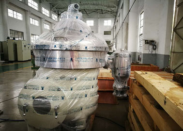 High Rotating Speed Milk And Cream Separator Stainless Steel Material For Milk Degrease