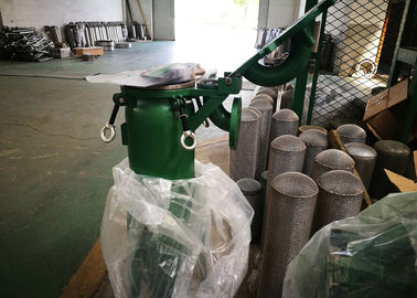 High Efficiency Industrial Bag Filters Liquid Purifying Enclosed Operation