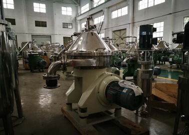 Stainless Steel Cream Separator , Centrifugal Separation Of Milk DHNZ Series