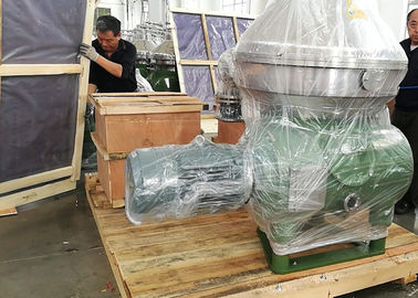 High Rotating Speed Industrial Oil Separator For Vegetable / Animal Oil Purifying