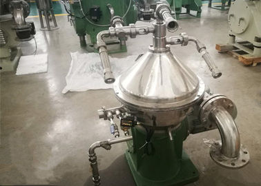 Stainless Steel Centrifugal Oil Water Separator / Continuous Centrifugal Separator