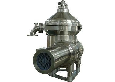 3 Phase Fish Oil Water Separator , Vegetable Oil Separator PLC Automatic Control