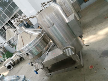 Liquid Solid Milk And Cream Separator With PLC Control Large Capacity