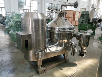 Eco Friendly Milk Skimming Machine , Automatic Online Cream Separator