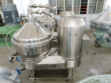 Stainless Steel Milk And Cream Separator For Cold / Warm Milk Separation