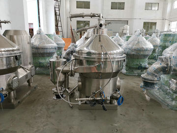 High Power Centrifugal Cream Separator / Cream Separator Machine 0.05 MPa