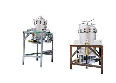 Deodorized Oil Vertical Metal Leaf Filter / Solid Liquid Filtration System