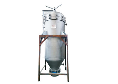 Stainless Steel Vertical Pressure Leaf Filter Hermetically Operated
