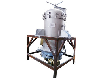 Automatic Vertical Plate Pressure Filter , Vacuum Leaf Filter Small Footprint